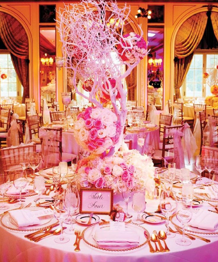 459 Best Over The Top Wedding Reception Flowers Images On Pinterest
