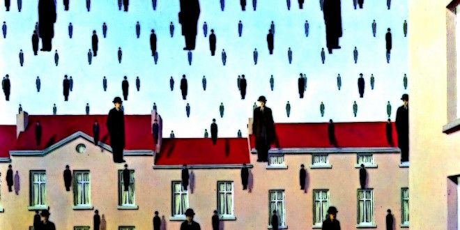 RENE' MAGRITTE (1898/1967), BELGIAN PAINTER – The surrealist artist, the man able to made works in special way,challenging observers' preconditioned perceptions of reality | Meeting Benches