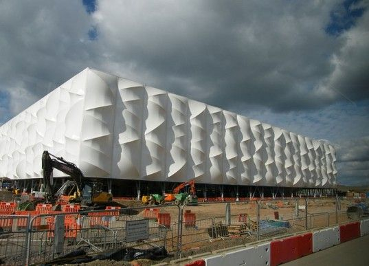 The 2012 London Olympic Basketball Stadium Is a Groundbreaking Recyclable Venue