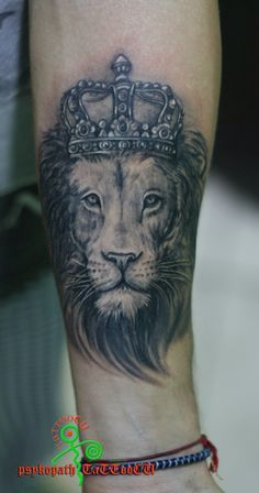 crown on a lion tattoo - Google Search