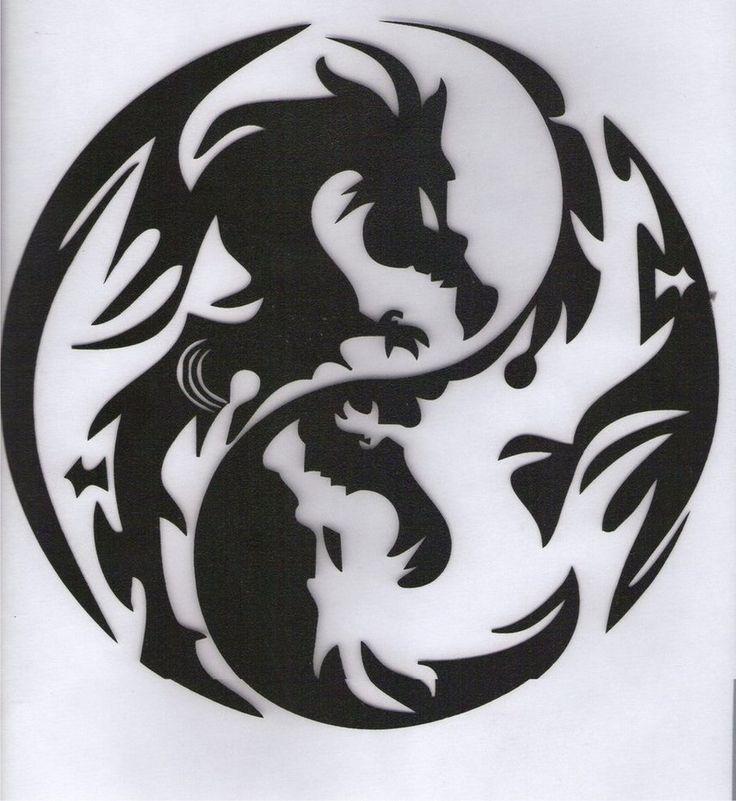 Dragon Yin Yang Symbol | Yin Yang Dragons + Carpet + by Princess-Flopy-13