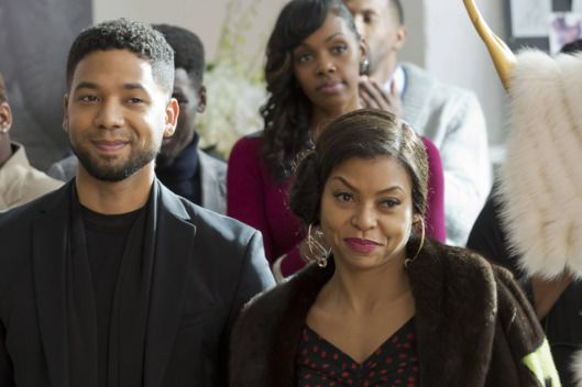 "EMPIRE: Pictured L-R: Jussie Smollett and Taraji P. Henson in the "" The Tameness Of A Wolf"" episode of EMPIRE airing Wednesday, April 13 (9:00-10:00 PM ET/PT) on FOX. ©Fox Broadcasting Co. CR: Chuck Hodes/FOX"