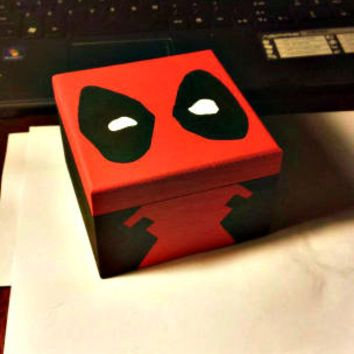 Deadpool valentine box idea
