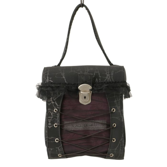 ♡ alice auaa ♡ Lace-up bag http://www.wunderwelt.jp/products/detail7642.html ☆ ·.. · ° ☆ How to buy ☆ ·.. · ° ☆ http://www.wunderwelt.jp/user_data/shoppingguide-eng ☆ ·.. · ☆ Japanese Vintage Lolita clothing shop Wunderwelt ☆ ·.. · ☆ #gothic
