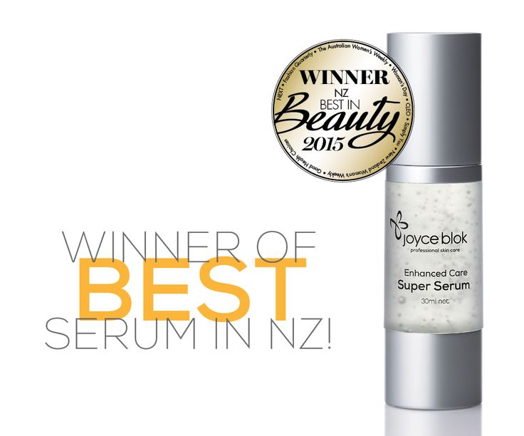 Our Favourite Joyce Blok Super Serum took out the top spot for best serum <3