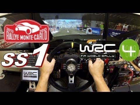"""WRC4 Rallye Monte Carlo """"SS1"""""""