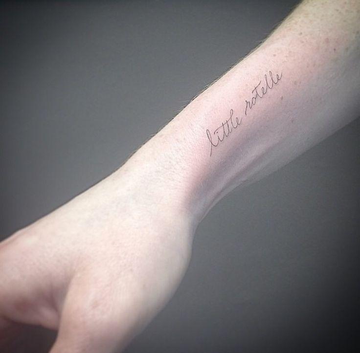 EAST #east_ssc #singleneedle #fineline #tattoo #words #shamrocksocialclub