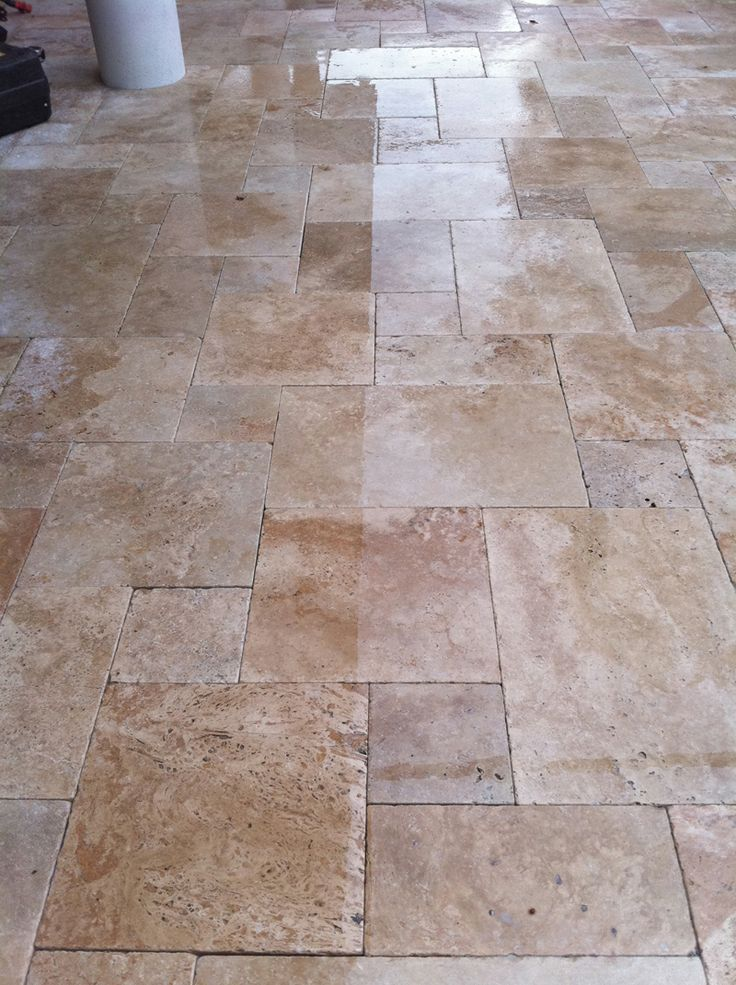 Roman Blend French Pattern Pavers | Travertine Pavers | Hardscape pool decking and Patio and driveway|Tampa and Orlando