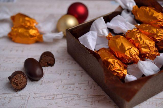Mogyorós-csokoládés szaloncukor házilag