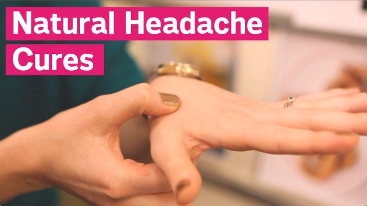 3 Natural Headache Cures