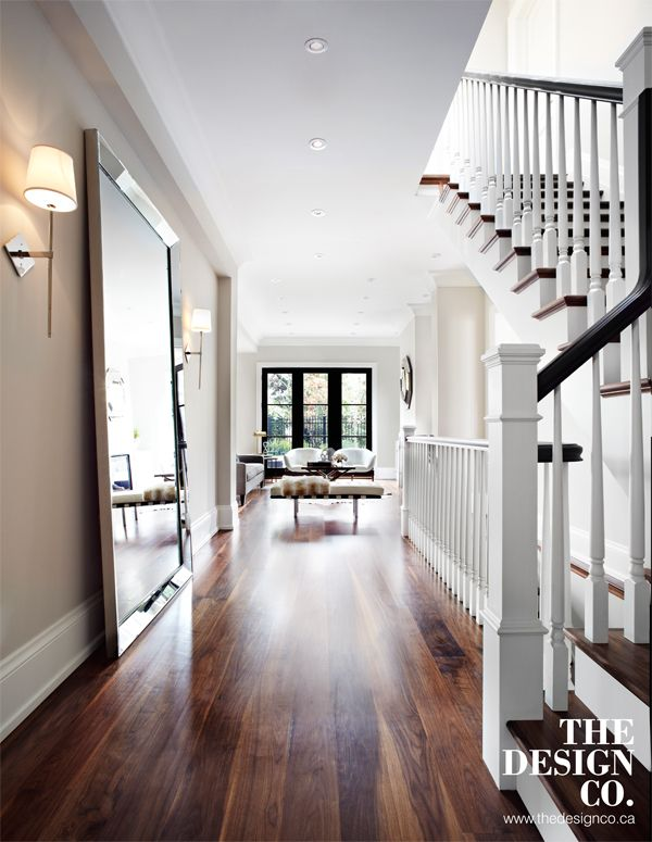 Walnut Floors Full Length Mirror Foyer Foyer Sconces