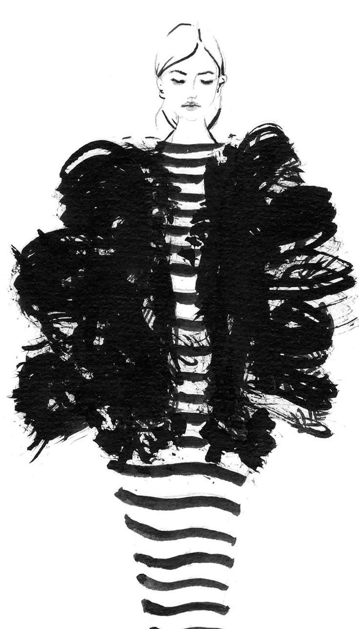 So zeichnest du MODE ILLUSTRATIONEN, auch wenn deine Kreativität gerade nicht zu existieren scheint + 3 TIPPS gegen Kreativitätslosigkeit   Hermine on walk   Mode Illustration   Fashion Illustration   Sketchbook   Fashion Sketch   Fashion Sketchbook   Black and white Illustration   Fashion Sketchbook