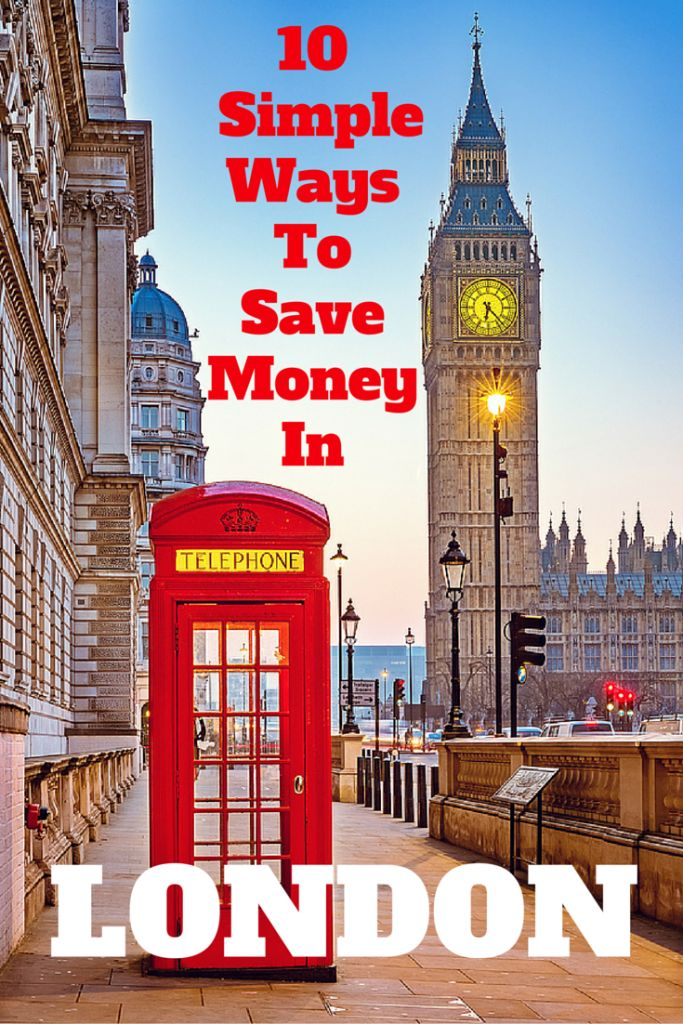 10 Simple Ways to Save Money in London: Let me show you how to travel to London on a budget. I've got 10 London travel tips that will show you how to save money in London and still have a great trip.
