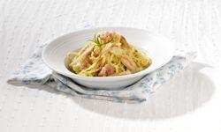 Recept » Colruyt Culinair Linguine met kip en pastinaak