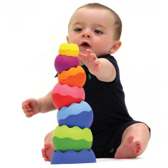 Fat Brain Toy Co - Tobbles Stacking Neo. colourful and educational! #Entropywishlist #pintowin