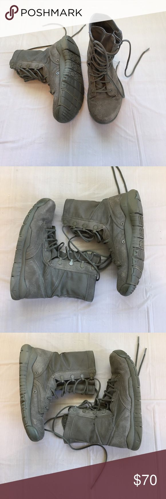 Nike SFB Special Field Boots size 7 These have flaws such as holes, discoloration and fading, piling, and some stuck on residue. No trades. Nike Shoes Boots