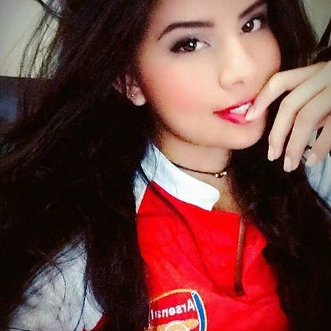 beautiful Goonerette ❤ #COYG #goonerette #Arsenal