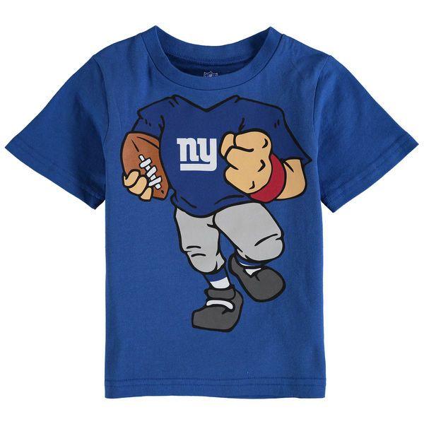 New York Giants Toddler Football Dreams T-Shirt - Royal - $17.99
