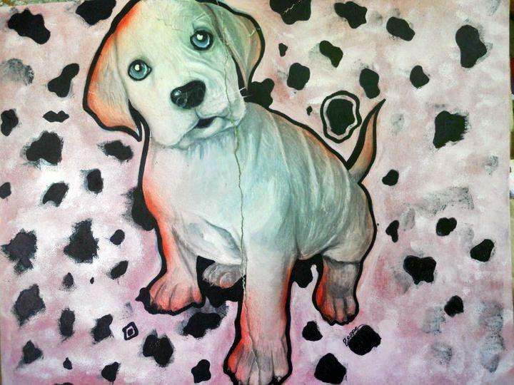 dog art