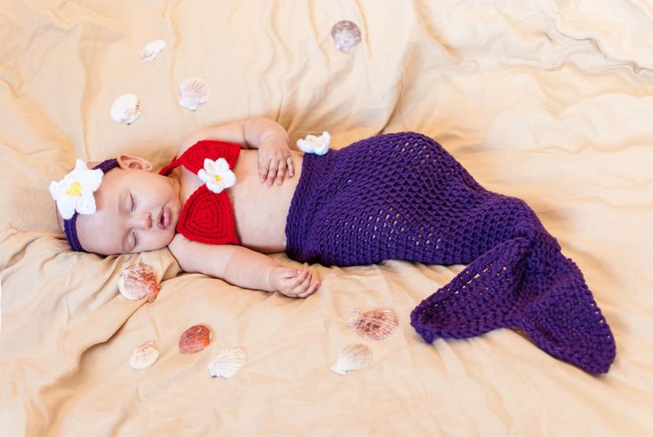 Excited to share the latest addition to my #etsy shop: Newborn Mermaid Costume - Newborn Mermaid Outfit - Newborn girl outfit  - under the sea baby shower - newborn costumes - little mermaid #babyshower #purple #babymermaidoutfit #babymermaidcostume #babymermaidtail #mermaidtail #mermaidcostume