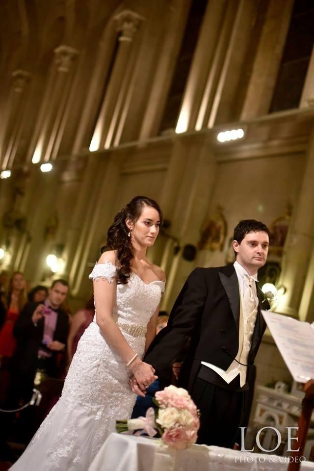 Roxana Casamiento Iglesia Ceremonia religiosa  Adelaida Mercado Peinado