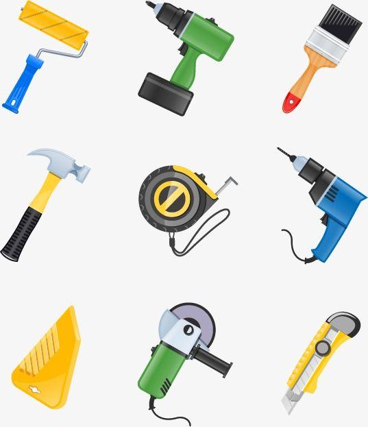 أدوات البناء رمز ناقلات المواد علامة حفر عربة تسوق Png وملف Psd للتحميل مجانا Construction Tools Tools Minnie Mouse Birthday Decorations