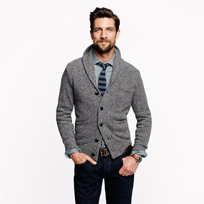 Donegal shawl cardigan | A Very Secret Pinterest Sale: 25% off any order at jcrew.com for 48 hours with code SECRET