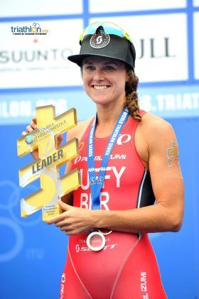 WTS Women Flora Duffy put Bermuda on the triathlon map when she scored her first World Triathlon Series win at the 2016 Vattenfall World