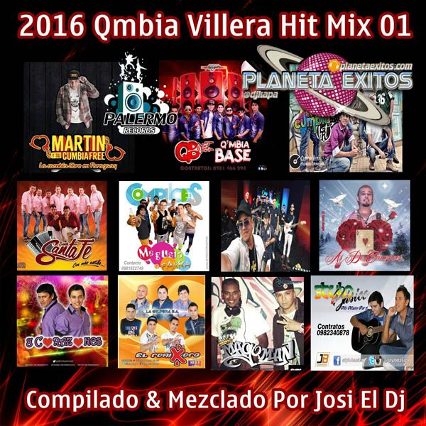 Josi El Dj - Qmbia Villera Hit Mix 01 (2016) 320 Kbps