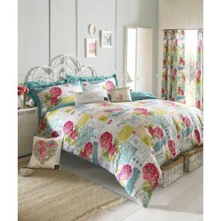 Buy Kirstie Allsopp Megan Multicoloured Bedding Set - Double at Argos.co.uk - Your Online Shop for Duvet cover sets.