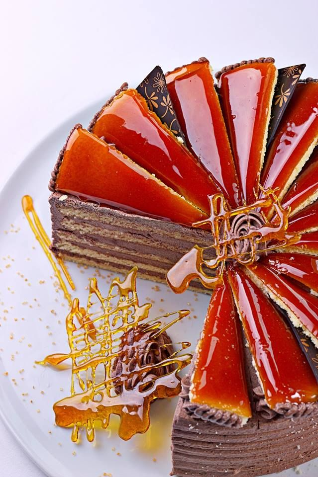 """Special hungarian """"Dobos"""" cake"""
