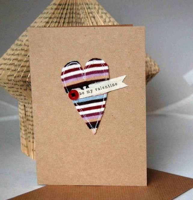 Valentine's card - Be my Valentine £3.00