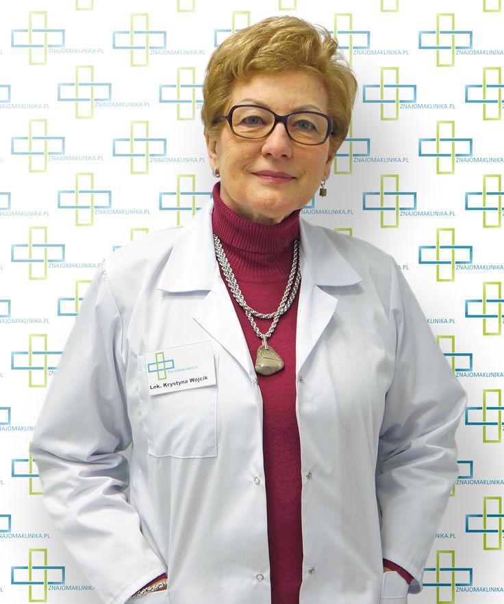 lek. Krystyna Wójcik Endokrynolog Akademia Medyczna w Warszawie, specjalista II stopnia- pediatra endokrynolog: choroby tarczycy, tempo wzrostu, zaburzenia dojrzewania, otyłość.