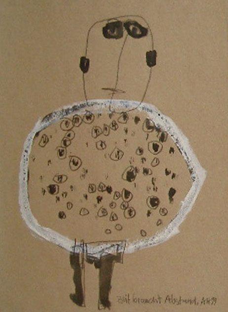 outsider art in berlin   Alexandra Huber (born 1955)