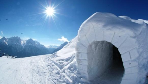 Lär dig hur man bygger en igloo!