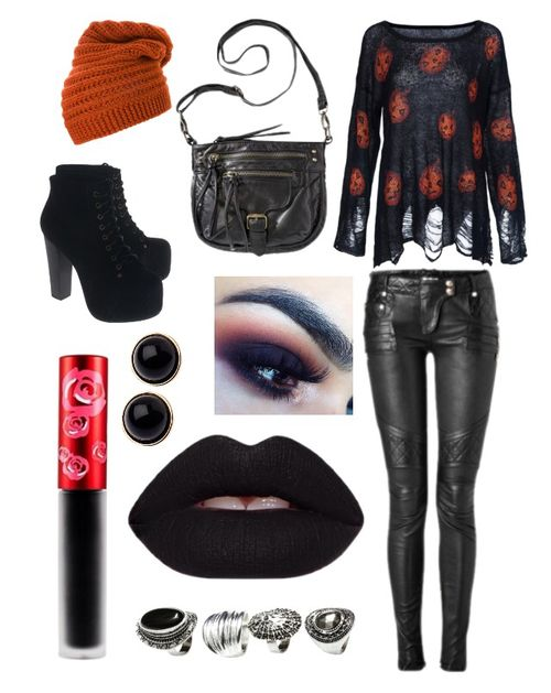Based off of my love for Halloween on We Heart It