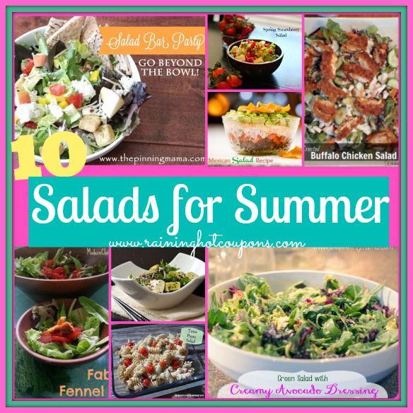 10 Salad Recipes (Click Image)