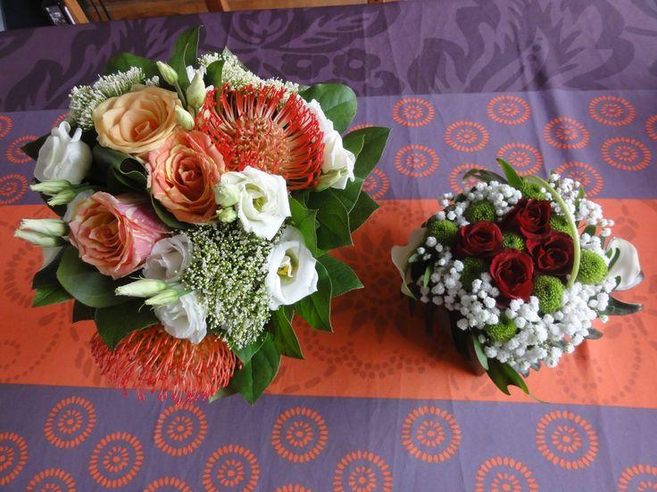Deux magnifiques bouquets re us par julie gautier for Bouquet de fleurs 30 euros