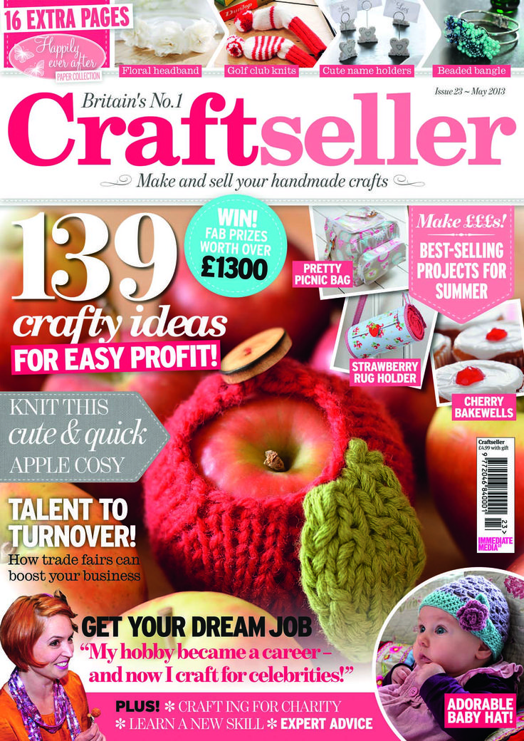 Craftseller magazine issue 23 packed with copyright free for Sell handmade crafts online free