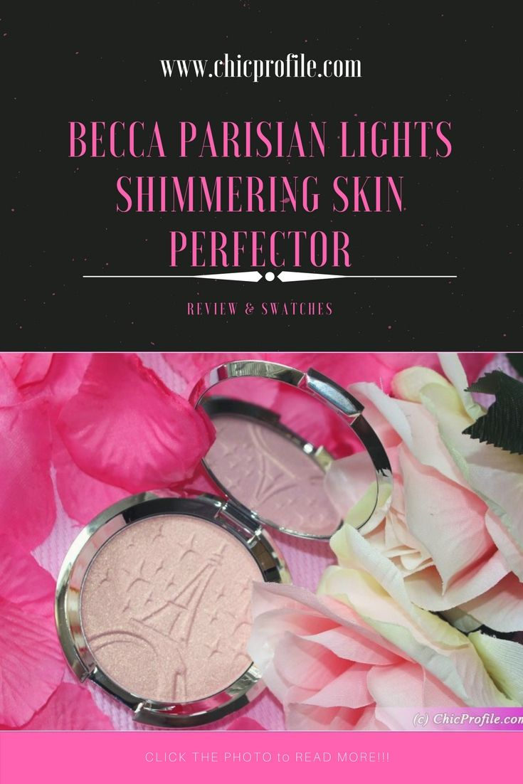 Becca Parisian Lights Shimmering Skin Perfector ($38.00 / £32.00 / €38.00 for 7 g / 0.25 oz) is a light, peachy-pink with warm and golden undertones, infused with shimmering golden pearl. via @Chicprofile