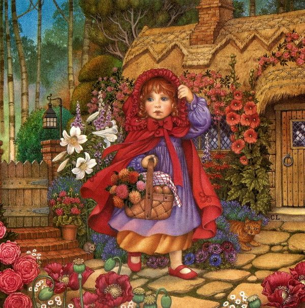 Image result for little red riding hood carol lawson