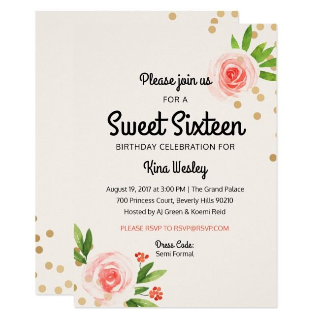Create Your Own Invitation Zazzle Com Sweet Sixteen Invitations Create Your Own Invitations Sweet Sixteen Birthday
