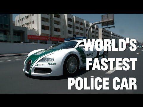 The Dubai Police Unveil Their Bugatti Veyron Police Car