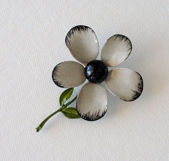 Flannel Flower Antique Glass For Sale