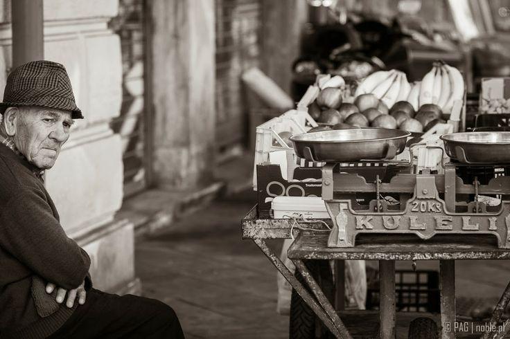 Street fruit vendor in Athens, Greece