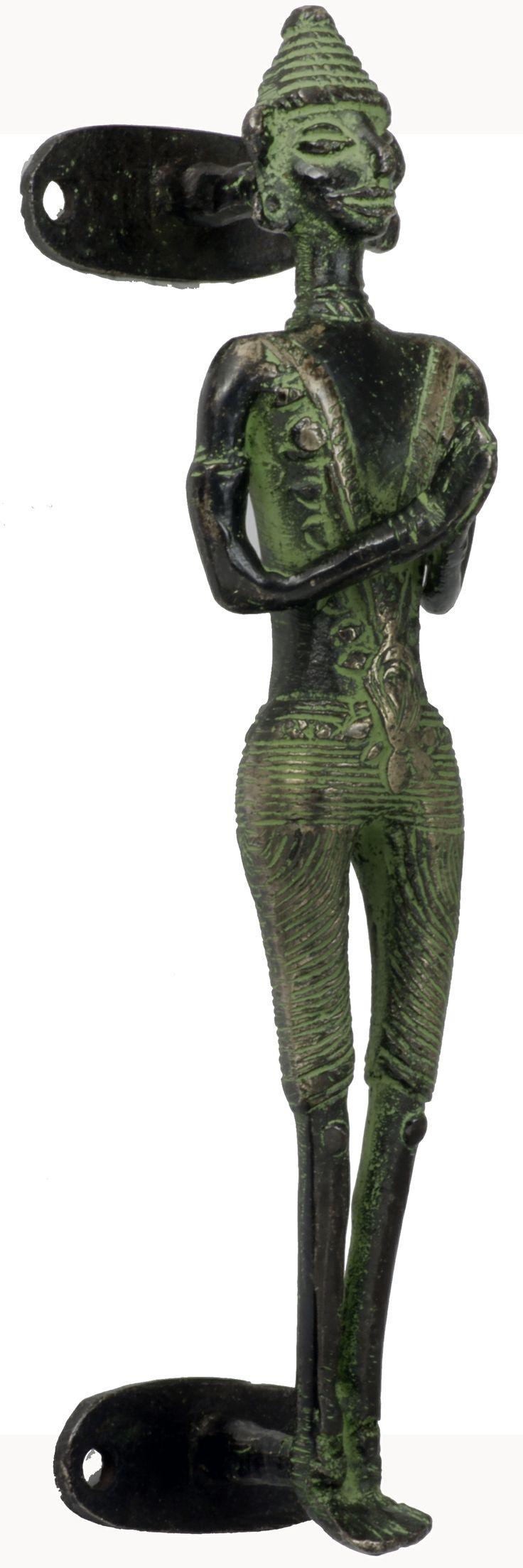 Temple Figurine- Indian Pulls & Knobs #motherofpearl #hardware #MOP #knobs #homdeco #renovation #indian #pulls