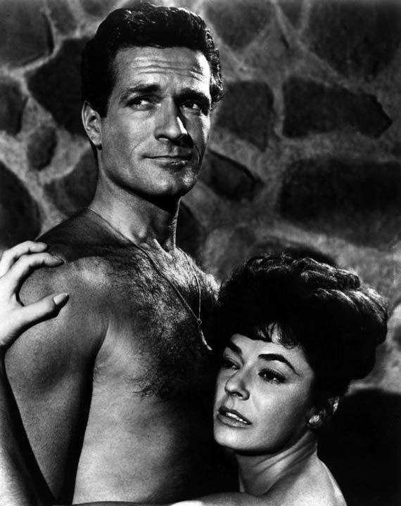 #Sixties   Hugh O'Brian and Ruth Roman (Love Has Many Faces, 1965