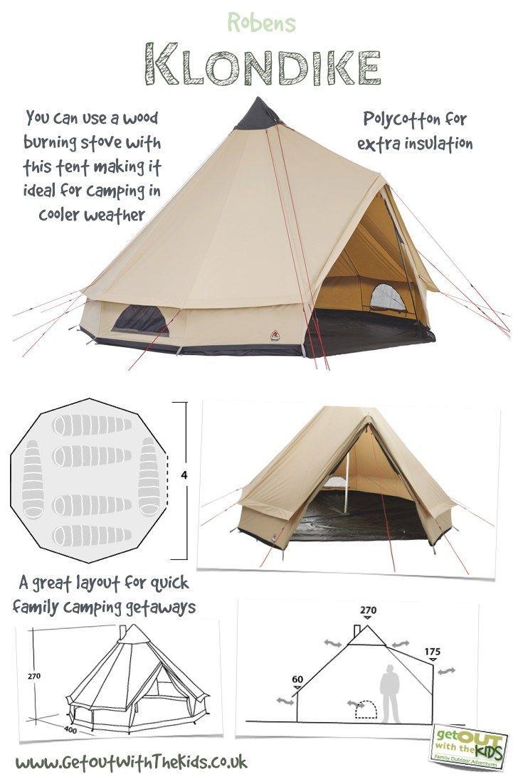 The Robens Klondike is a great little tipi tent.  sc 1 st  Pinterest & 5282 best Camping Supplies images on Pinterest | Camping gear ...