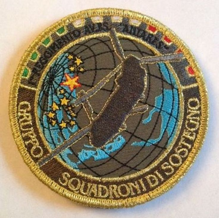 """Patch/ Toppa A.M. Gruppo Squadroni Di Sostegno """"LEGGI"""""""