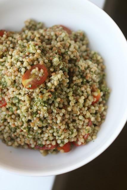Week of Menus: Basil Lemon Israeli Couscous: A different kind of ...